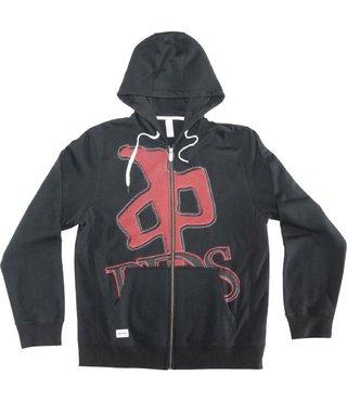 RDS Zip Hoodie OG Low Res - Blk/Red