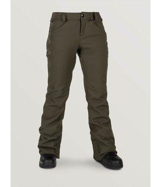 Volcom Women's Grail 3D Stretch Pants - Forest