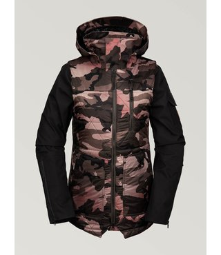 Volcom Women's Vault 4-in-1 Jacket - Faded Army