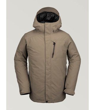 Volcom Men's L Insulated Gore-Tex Jacket - Teak