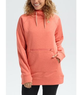 Women's Burton Oak Long Hoodie - Crabapple Hthr