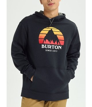 Men's Burton Oak Pullover Hoodie - Sunset Blk Hthr