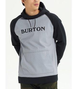 Men's Burton Crown Bonded Hoodie - GryHthr/Blk