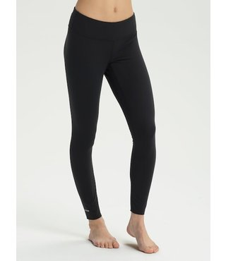 Women's Burton Midweight Base Layer Pant - True Blk