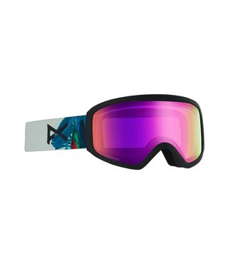 Anon Insight Snow Goggle Parrot w/ Sonar Pink Lens + Spare
