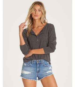 Billabong Any Day Top - Charcoal