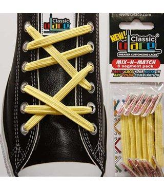 U-Lace Classic No-Tie Shoe Laces - Canary