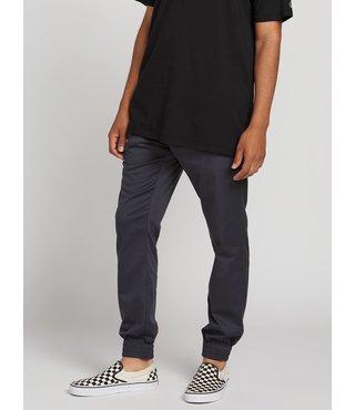 Volcom Frickin Slim Jogger Pants - Charcoal