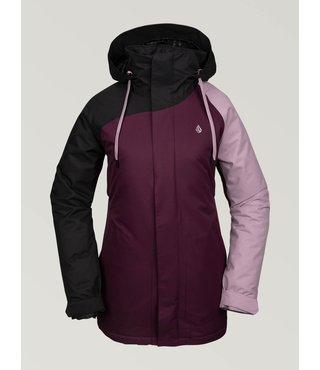 Volcom Women's Westland Insulated Jacket - Merlot