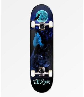 "ATM Wolves 8"" x 31.75"" Complete Skateboard"