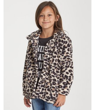 Billabong Girls' Artic Oasis Fleece Jacket - Whisper