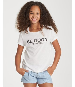 Billabong Girls' Be Good Do Good T-Shirt - Cool Wip