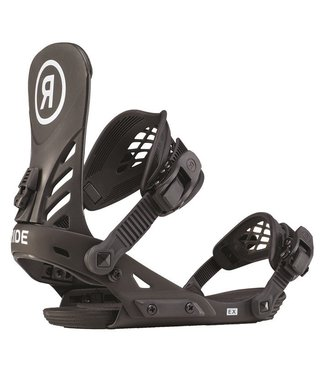 Ride Ex Men's Snowboard Bindings - Black