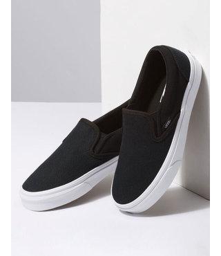 Vans Classic Slip On Shoes - Herringbone