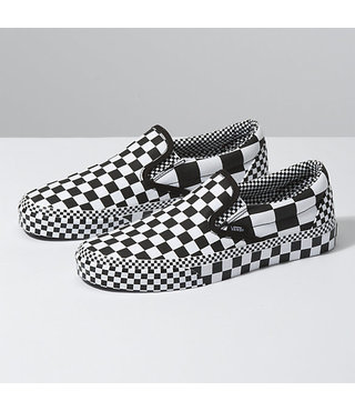 Vans Classic Slip On Shoes - All Over Checker