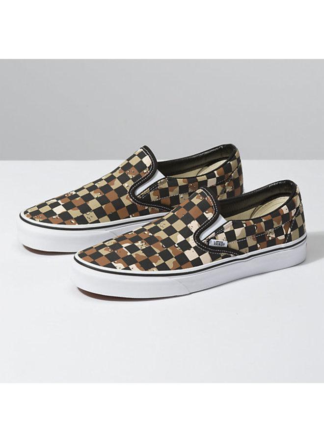 Vans Classic Slip On Shoes - Checker