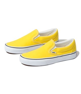 Vans Classic Slip On Shoes - Vibrant Yellow