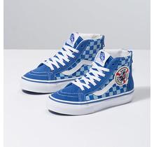 Vans x Shark Week Toddler Sk8-Hi Zip Shoes - Blue/Wht