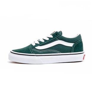Vans Kids Old Skool Shoes - Trekking Green