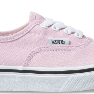 Vans Kids Authentic Elastic Lace Shoes - Lilac Snow