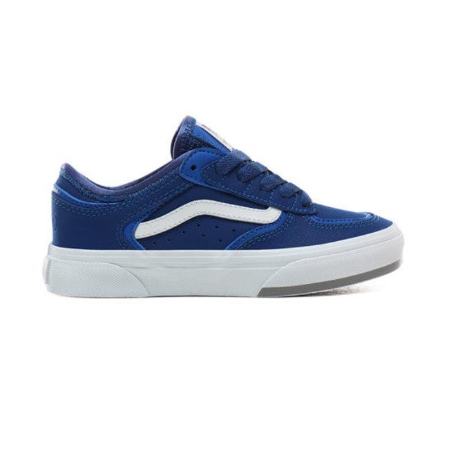 VANS FOOTWEAR Vans Kids 66/99/19 Rowley Classic Shoes , Blue/Grey