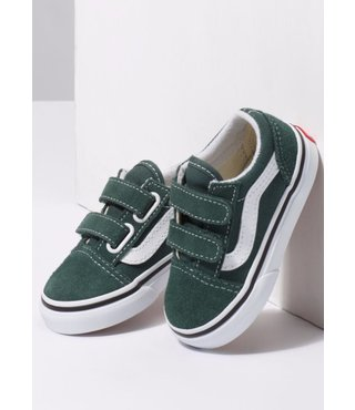 Vans Toddler Old Skool V Shoes - Trekking Green