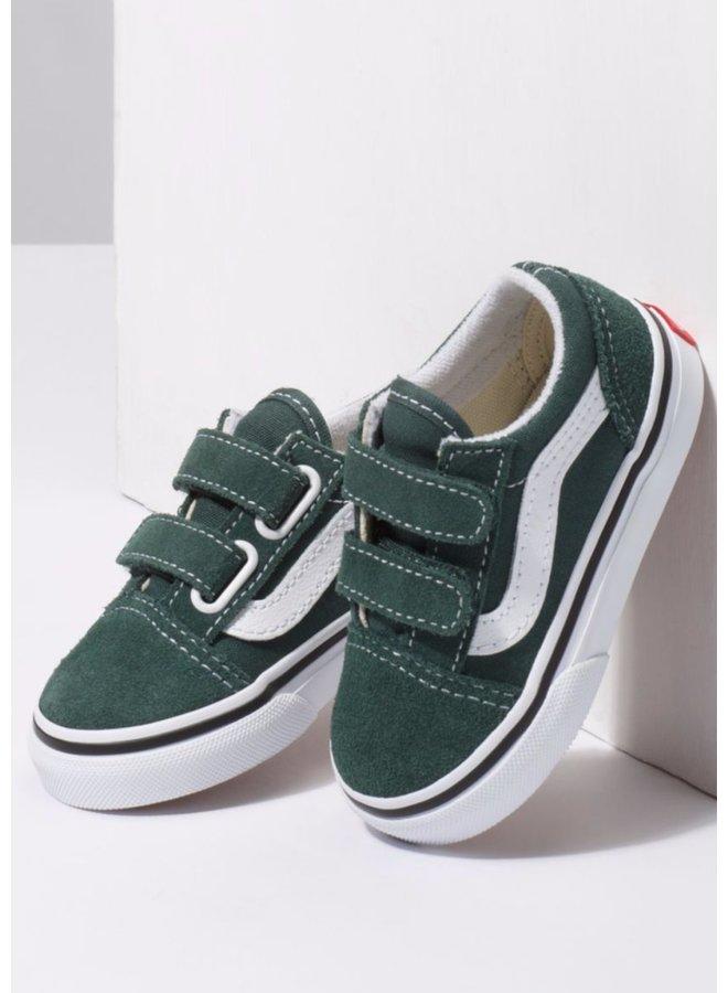 Vans Toddler Old Skool V Shoes - Trekking Green