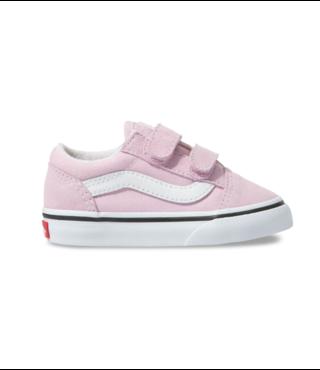 Vans Toddler Old Skool V Shoes - Lilac Snow