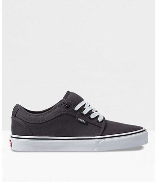 Vans Chukka Low Men's Skate Shoes - Obsidian/Black