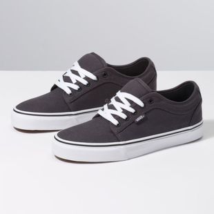 Vans Chukka Low Youth Skate Shoes - Obsidian/Black