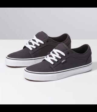 Vans Chukka Low Youth Skate Shoes - Obsidian/Black