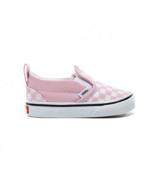 Vans Toddler Slip-On V Shoes - Checker Lilac