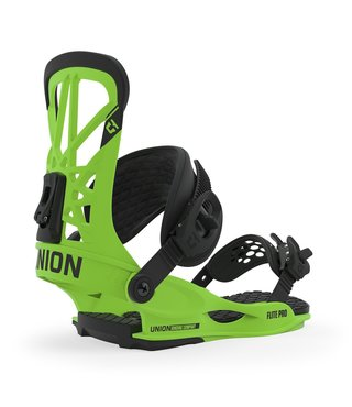 Union Flite Pro Men's Snowboard Bindings - Acid Green