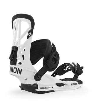 Union Flite Pro Men's Snowboard Bindings - White