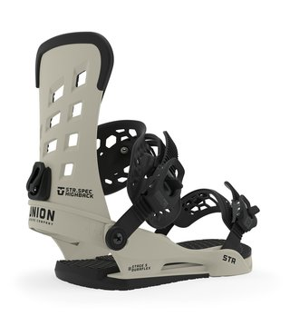 Union STR Men's Snowboard Bindings - Bone