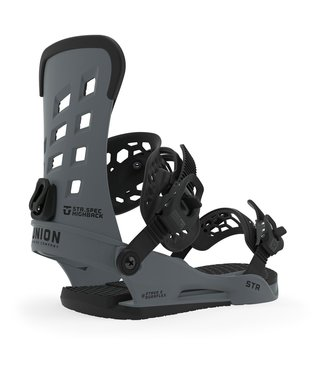 Union STR Men's Snowboard Bindings - Dark Grey