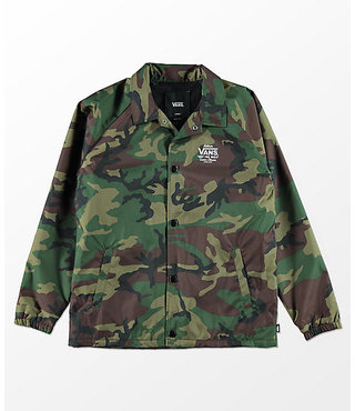 Vans Kids Torrey Jacket (8-14+ years) - Camo