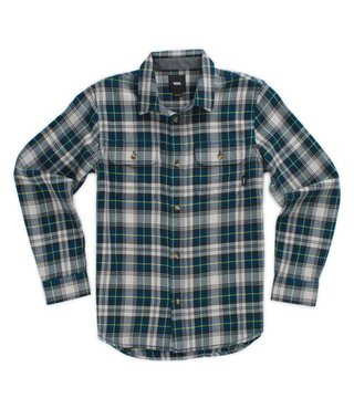 Vans Kids 3-7 Sycamore Button Up Shirt - Gibraltar Sea