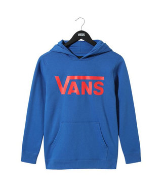Vans Kids Classic Pullover Hoodie - Blue/Racing Red