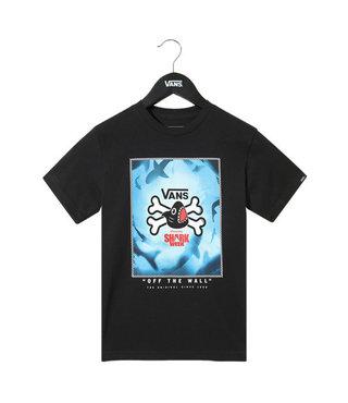 Vans x Shark Week Kids T-shirt (5+ years) - Blk