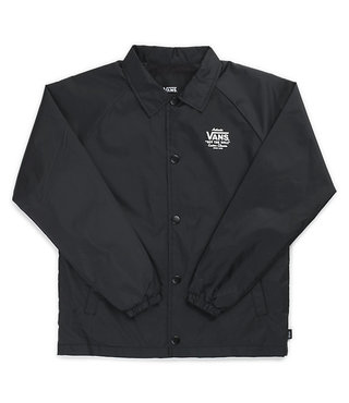 Vans Boys Torrey Coaches Jacket - Black/White