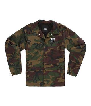 Vans Boys Torrey Coaches Jacket - Camo