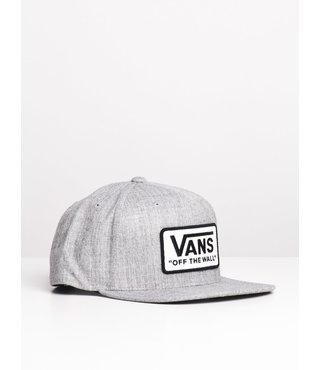 Vans Whitford Snapback Hat - H.Grey/Wht