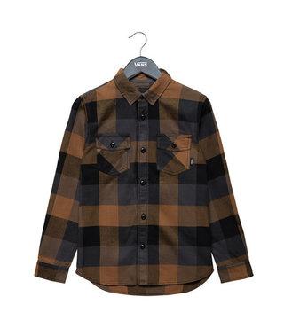 Vans Kids 2-7 Box Flannel Shirt - Black/Dirt