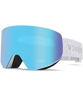 Von Zipper Encore Snow Goggles White w/ Stellar Chrome Lens