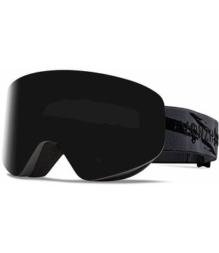 Von Zipper Encore Snow Goggles Black Satin w/ Wild Blackout Lens