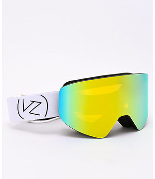 Von Zipper Encore Snow Goggles Black w/ Gold Chrome Lens