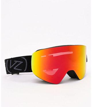 Von Zipper Encore Snow Goggles Black Satin w/ Wild Fire Chrome Lens