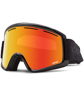 Von Zipper Cleaver Snow Goggles Black w/ Wild Fire Chrome Lens