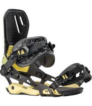 Rome D.O.D G3 Snowboard Bindings - Yellow Grit